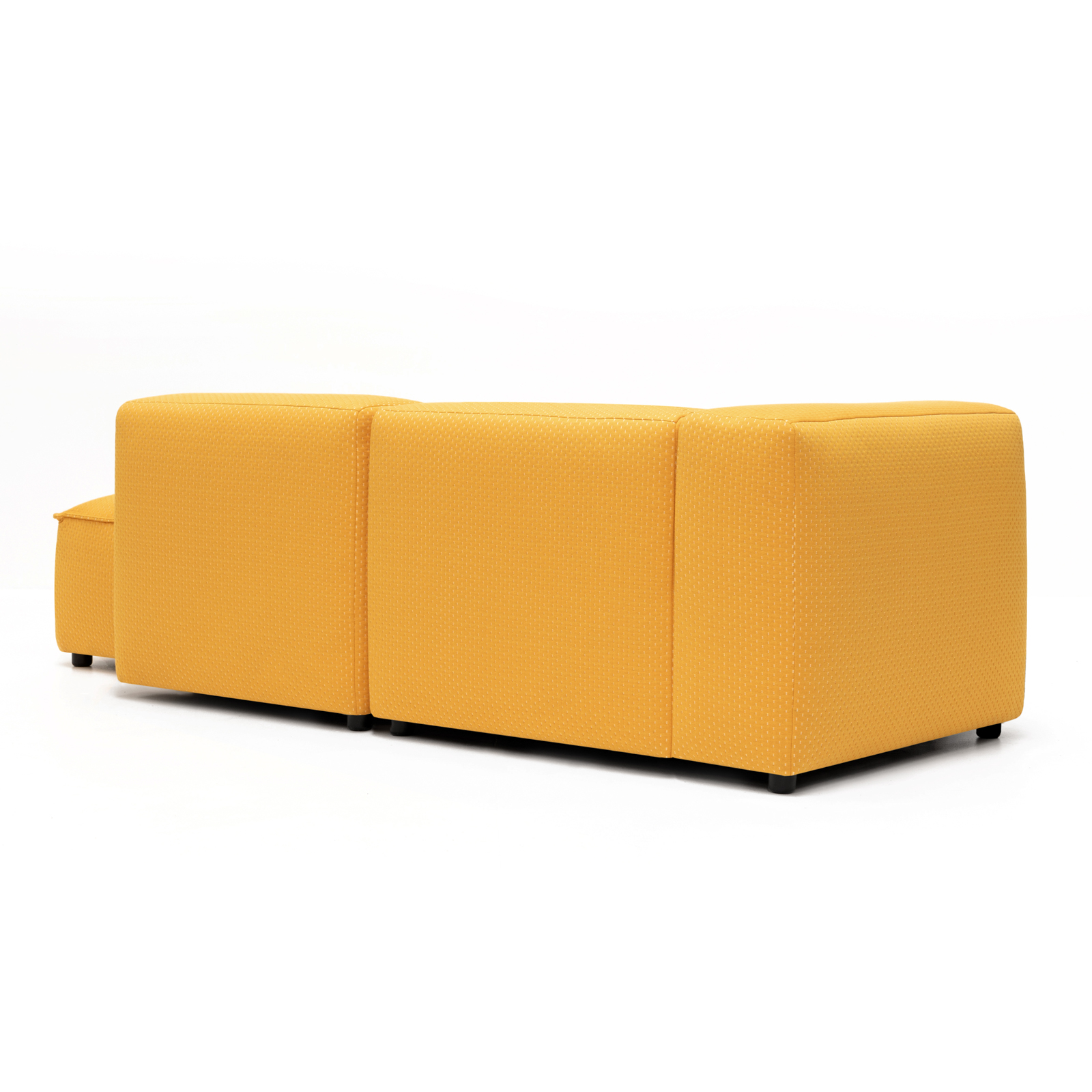 Permanent Future Easey Sofa Chasie Left Zoom Yellow Pf Sf Ea Ch L Zy 45ºl Rear View