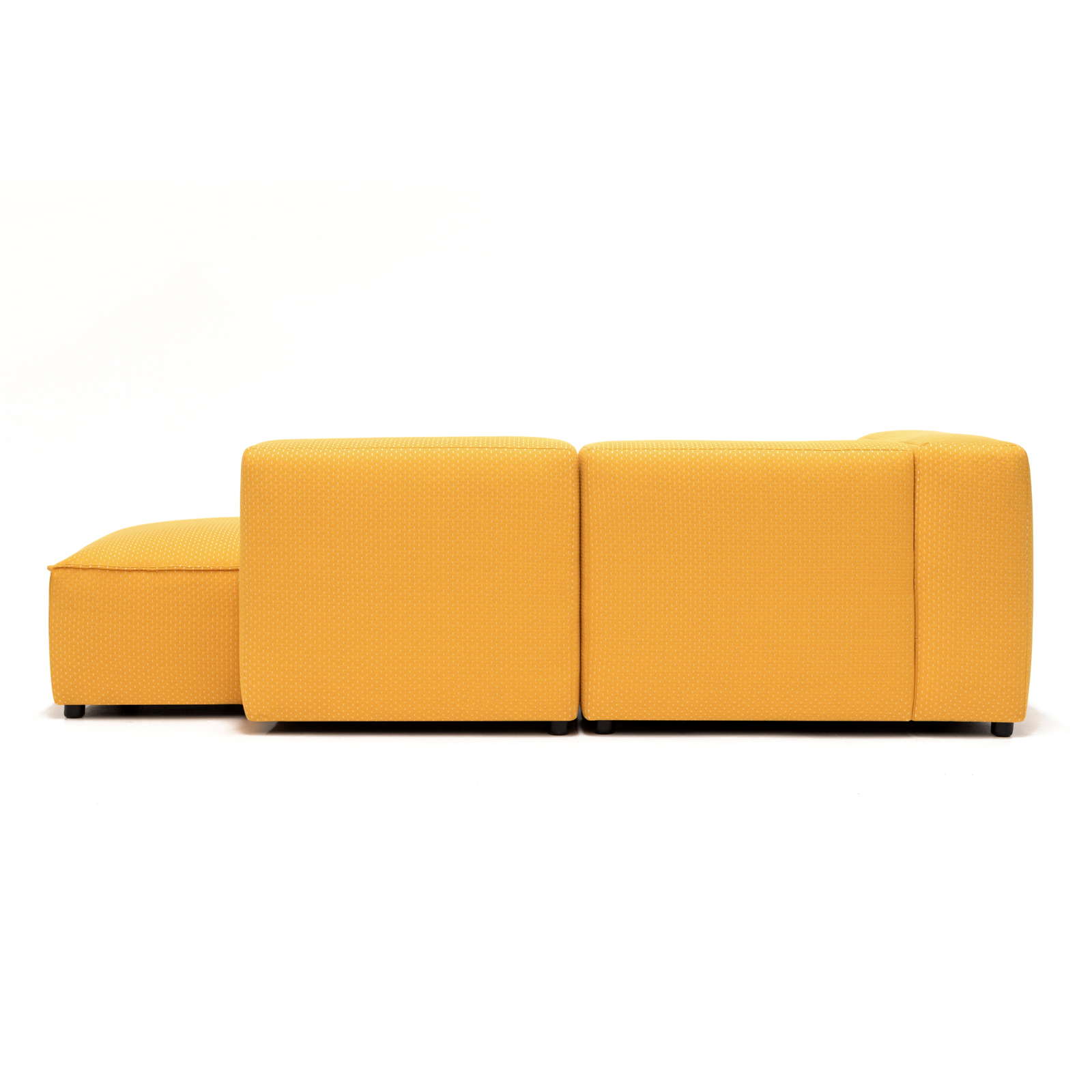 Permanent Future Easey Sofa Chasie Left Zoom Yellow Pf Sf Ea Ch L Zy Rear View