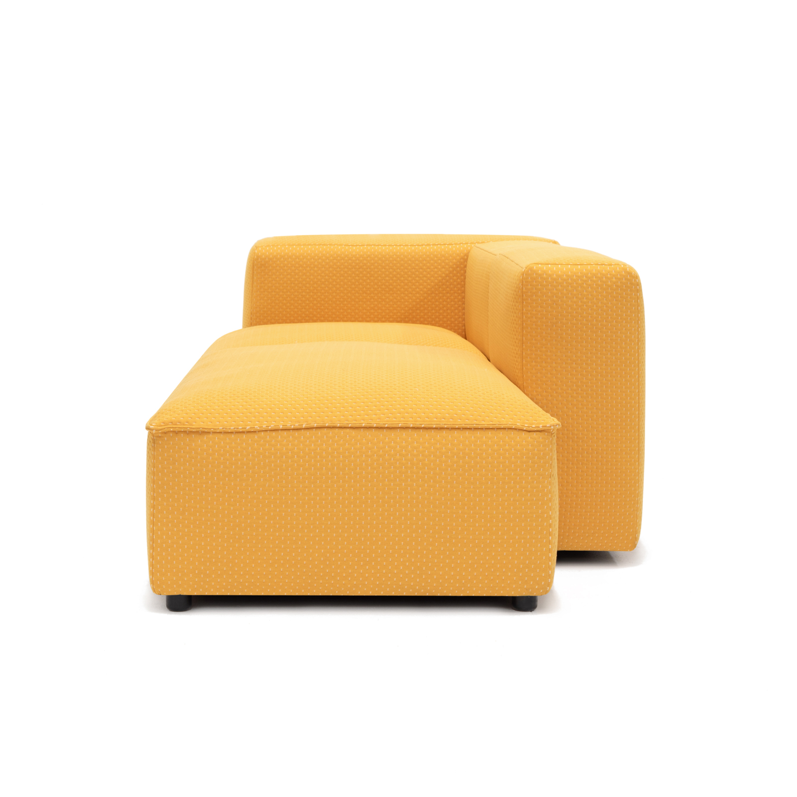 Permanent Future Easey Sofa Chasie Left Zoom Yellow Pf Sf Ea Ch L Zy Side View