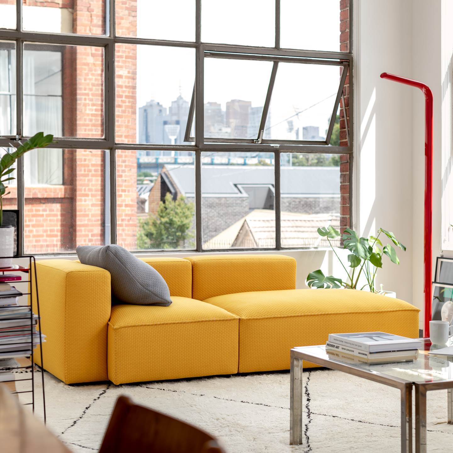 Permanent Future Easey Sofa Yellow Styled 1 1 1