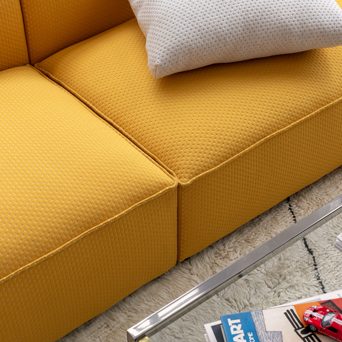 Permanent Future Easey Sofa Yellow Styled 1 1 6