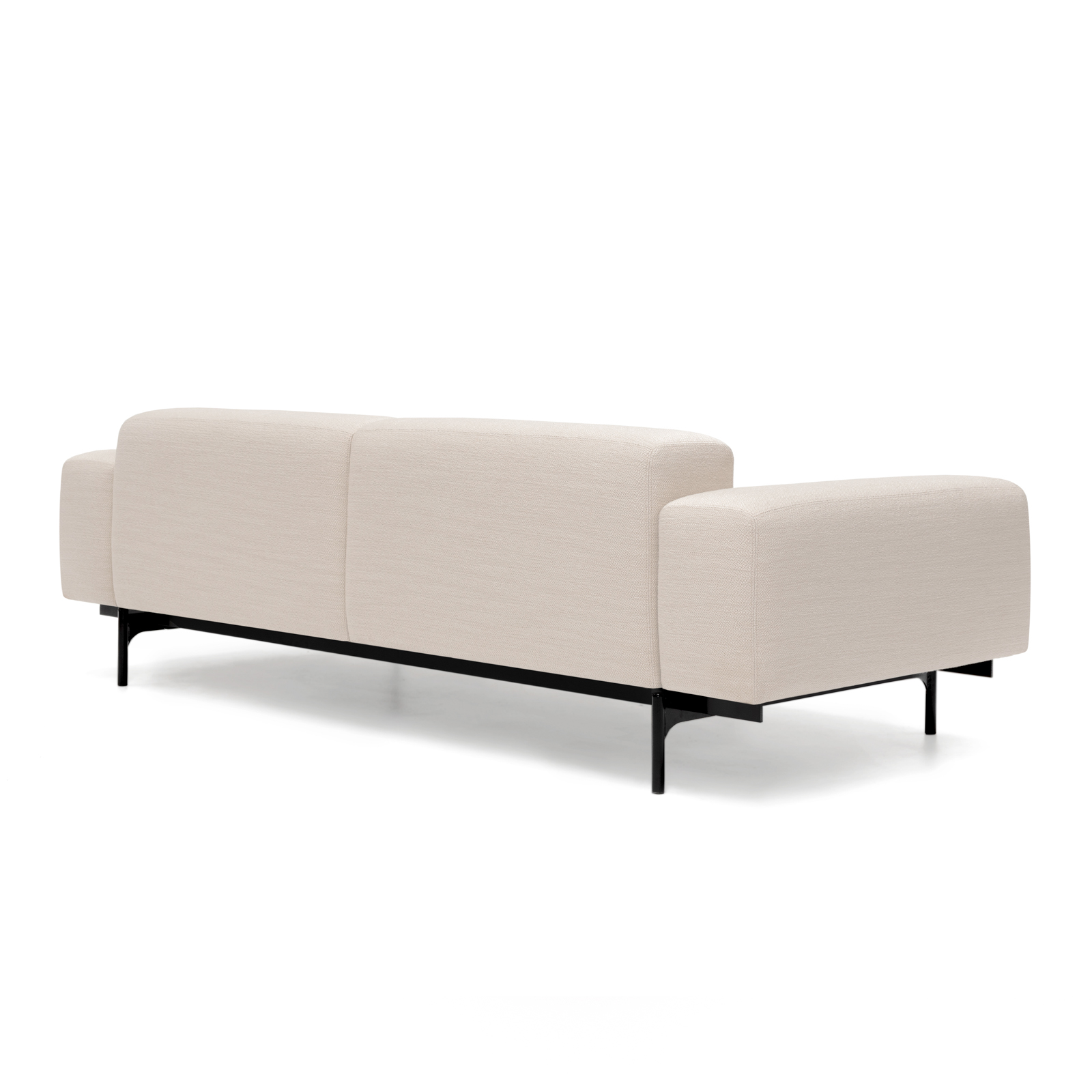 Permanent Future Perry Sofa 2.5 Seater Pure Pumice Pf Sf Pr 2.5 Pp Front View 00005
