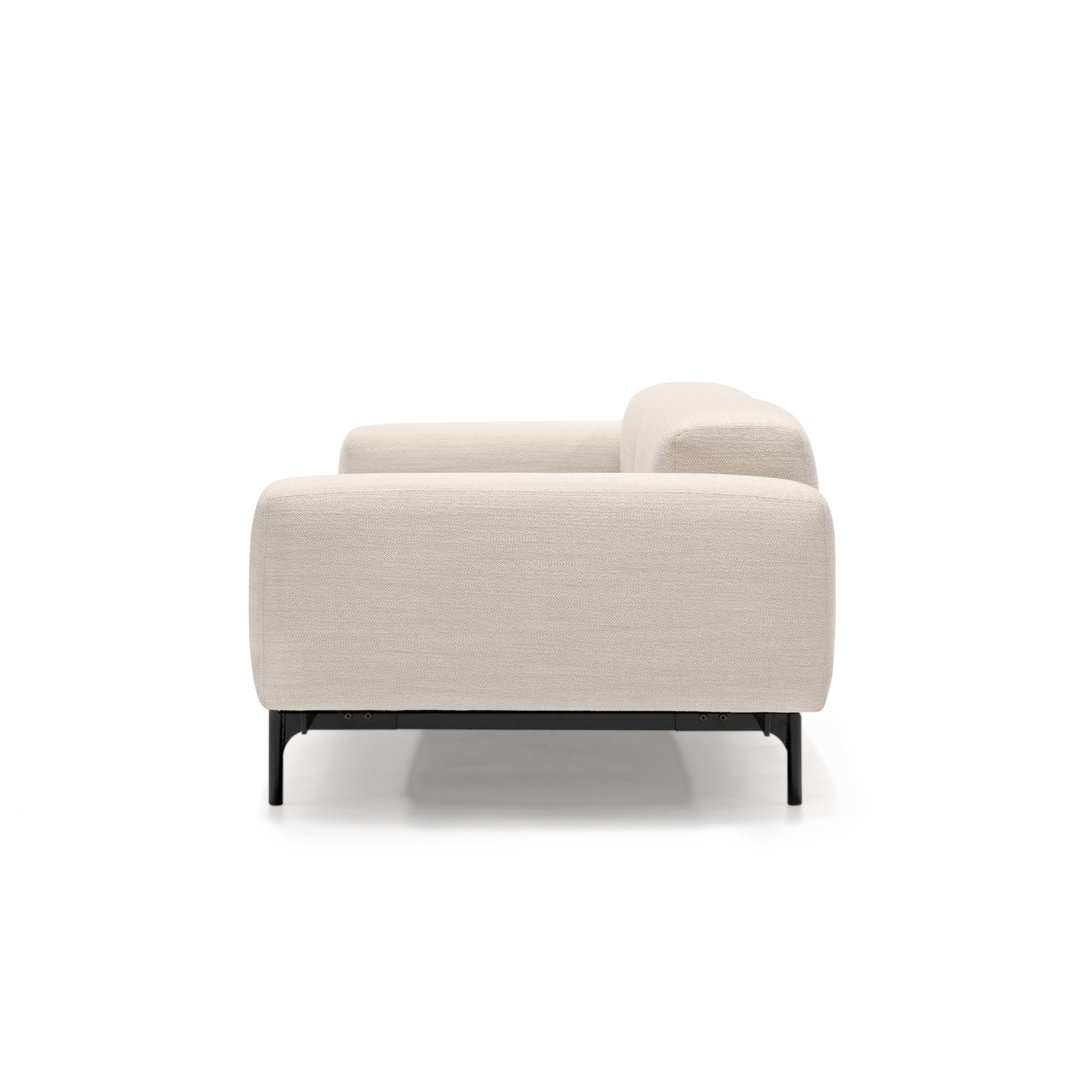 Permanent Future Perry Sofa 2.5 Seater Pure Pumice Pf Sf Pr 2.5 Pp Side View