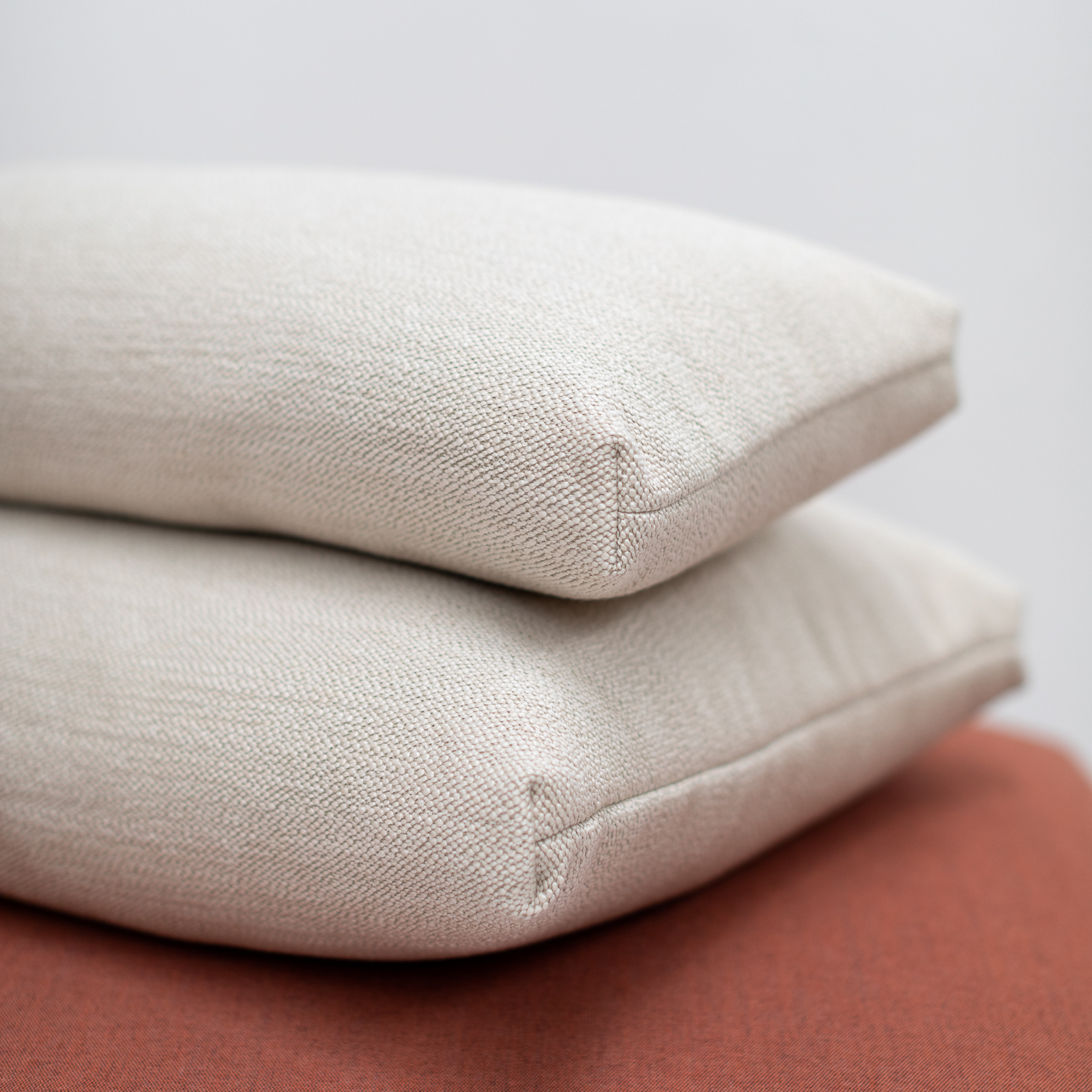 Permanent Future Perry Sofa Cushion Pure Pumice Pf Sf Pr Pp Front View