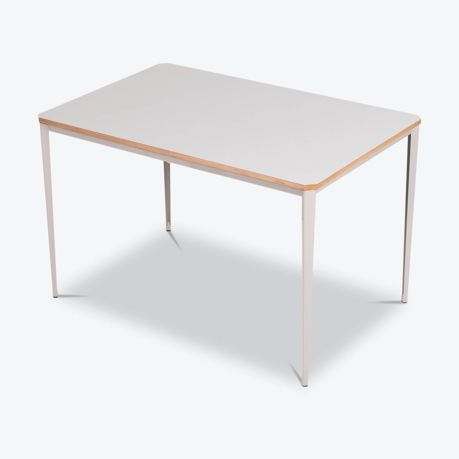 Recent Table By Wim Rietveld For Ahrend De Cirkel With Grey Steel Base, 1960s, The Netherlands Hero
