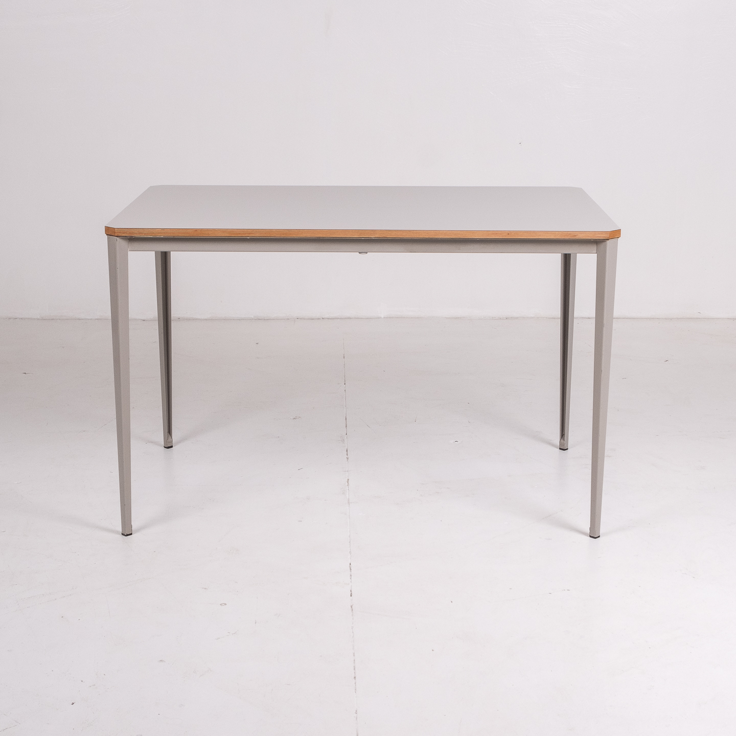 Recent Table By Wim Rietveld For Ahrend De Cirkel With Grey Steel Base, 1960s, The Netherlands63