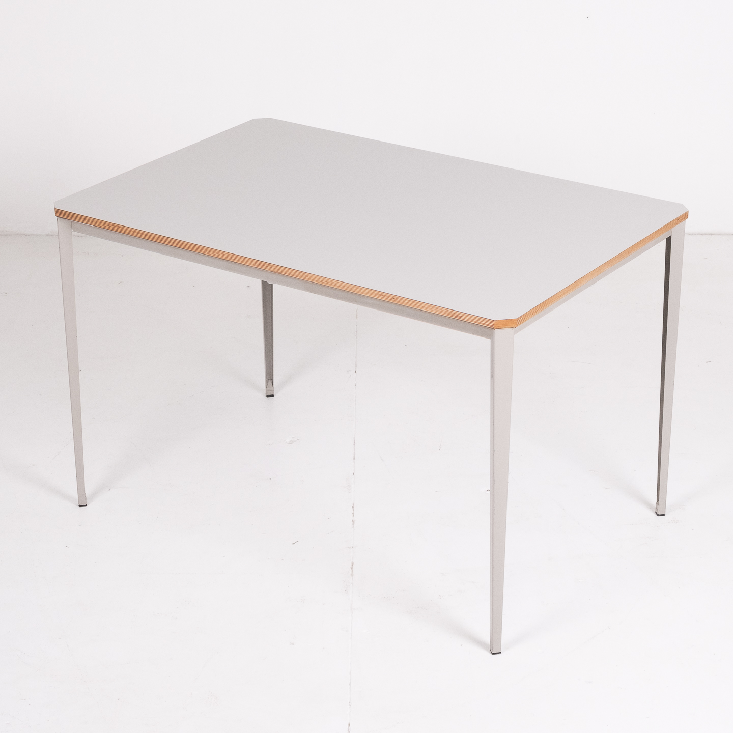 Recent Table By Wim Rietveld For Ahrend De Cirkel With Grey Steel Base, 1960s, The Netherlands70