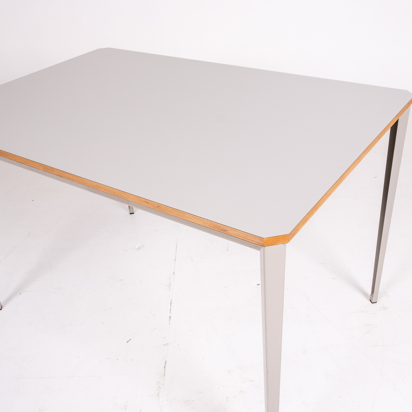Recent Table By Wim Rietveld For Ahrend De Cirkel With Grey Steel Base, 1960s, The Netherlands73