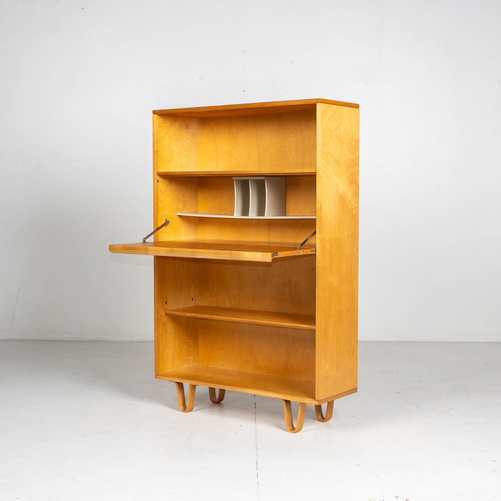 Bb04 Bookcase By Cees Braakman For Pastoe In Birch, 1950s, The Netherlands 0015