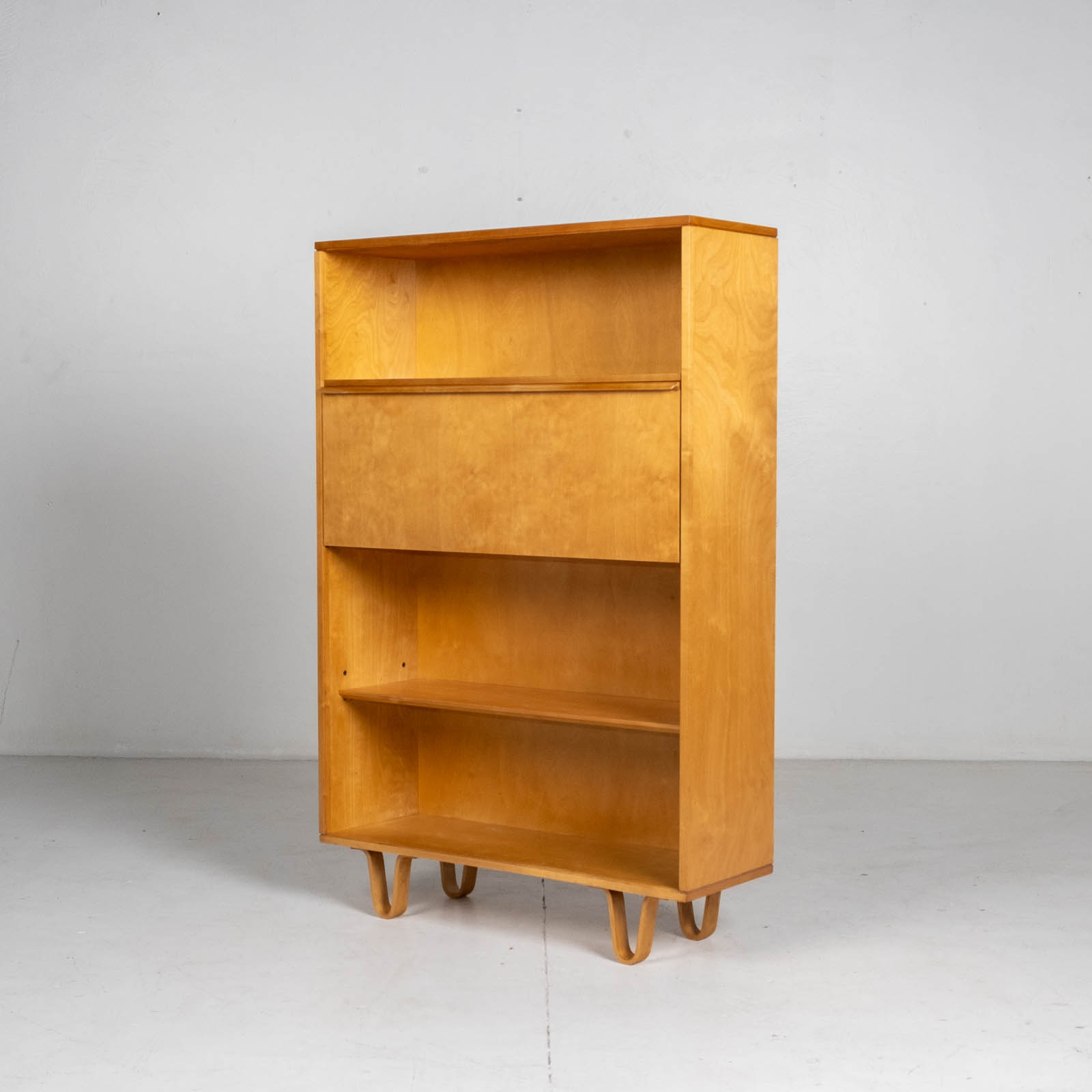 Bb04 Bookcase By Cees Braakman For Pastoe In Birch, 1950s, The Netherlands 0016