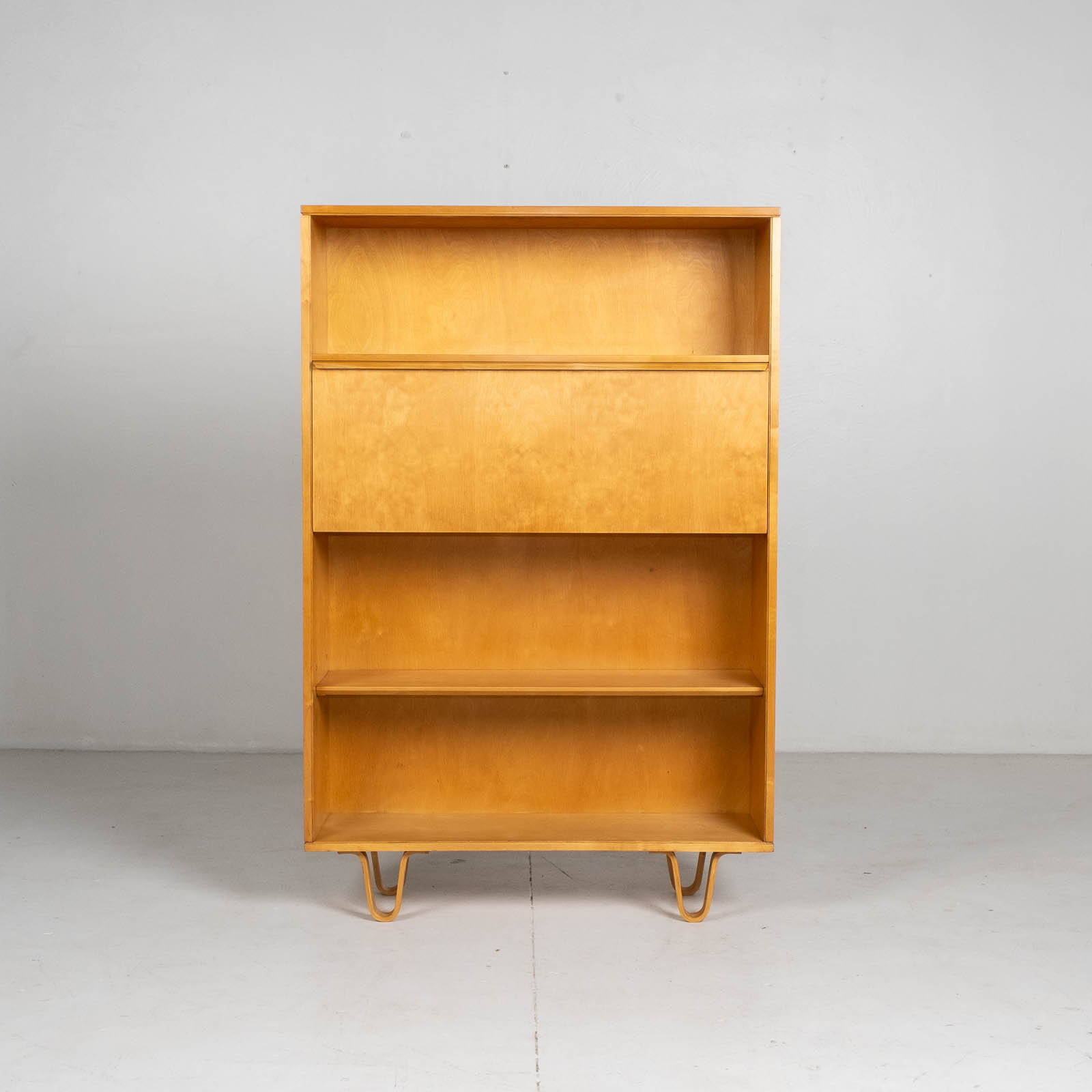 Bb04 Bookcase By Cees Braakman For Pastoe In Birch, 1950s, The Netherlands 0017