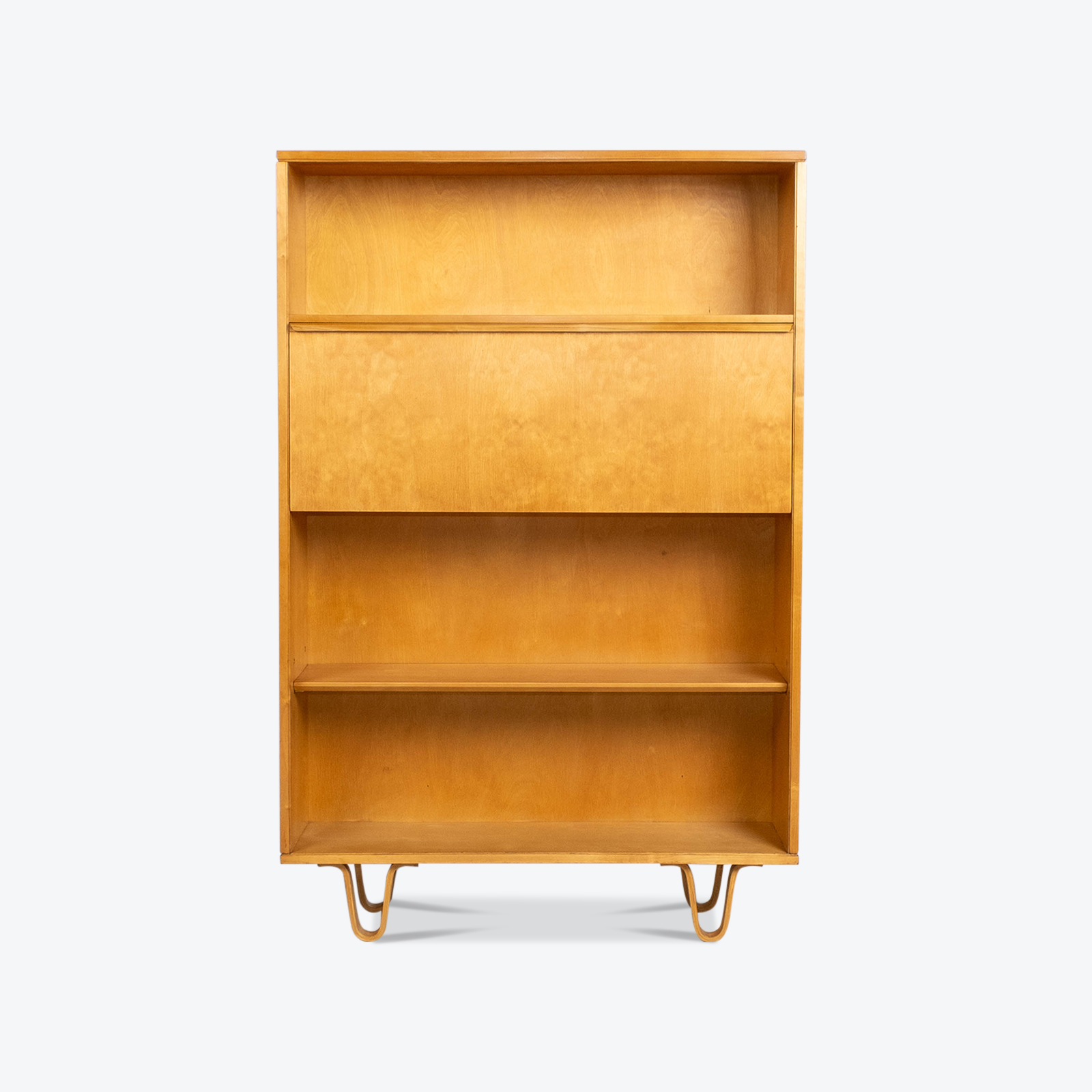 Bb04 Bookcase By Cees Braakman For Pastoe In Birch, 1950s, The Netherlands Hero