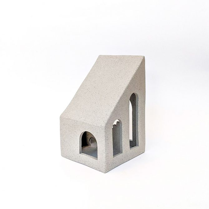 Atrium, Raw Speckled Clay Ceramic Sculpture By Oh Hey Grace Thumb