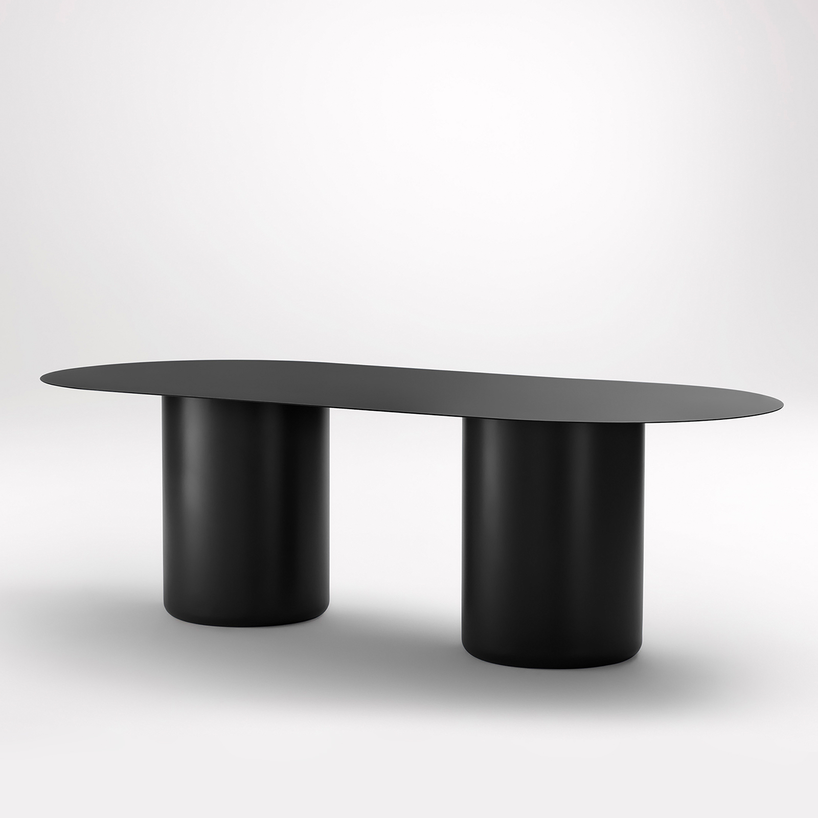 Sequence Dining Oval Coco Flip Black Hero
