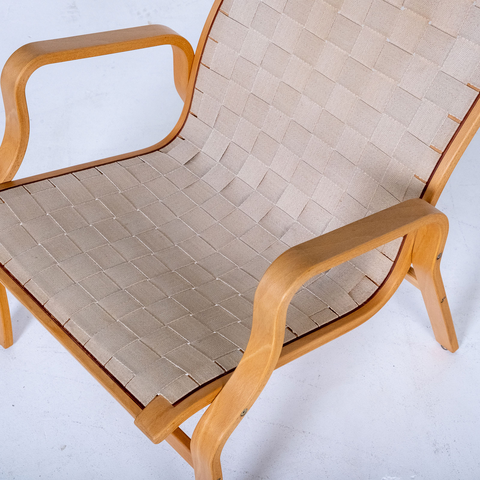 Armchair In The Style Of Bruno Mathsson, 1960s, Sweden1