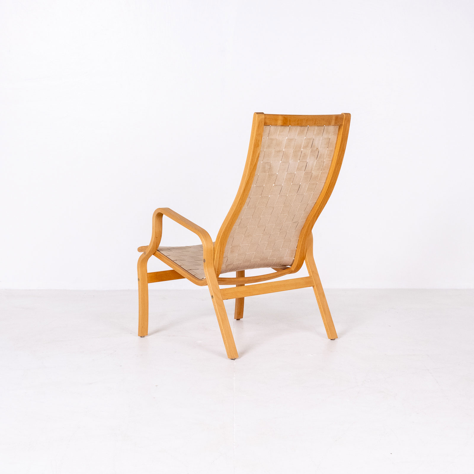 Armchair In The Style Of Bruno Mathsson, 1960s, Sweden2