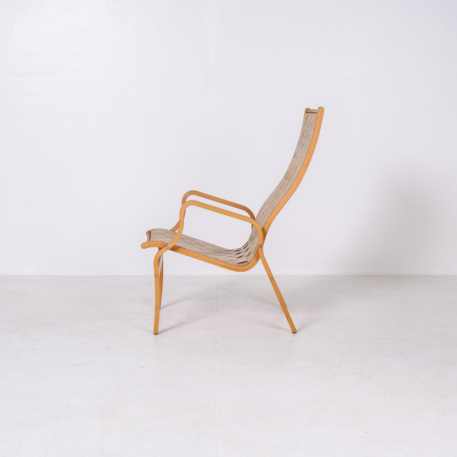 Armchair In The Style Of Bruno Mathsson, 1960s, Sweden3