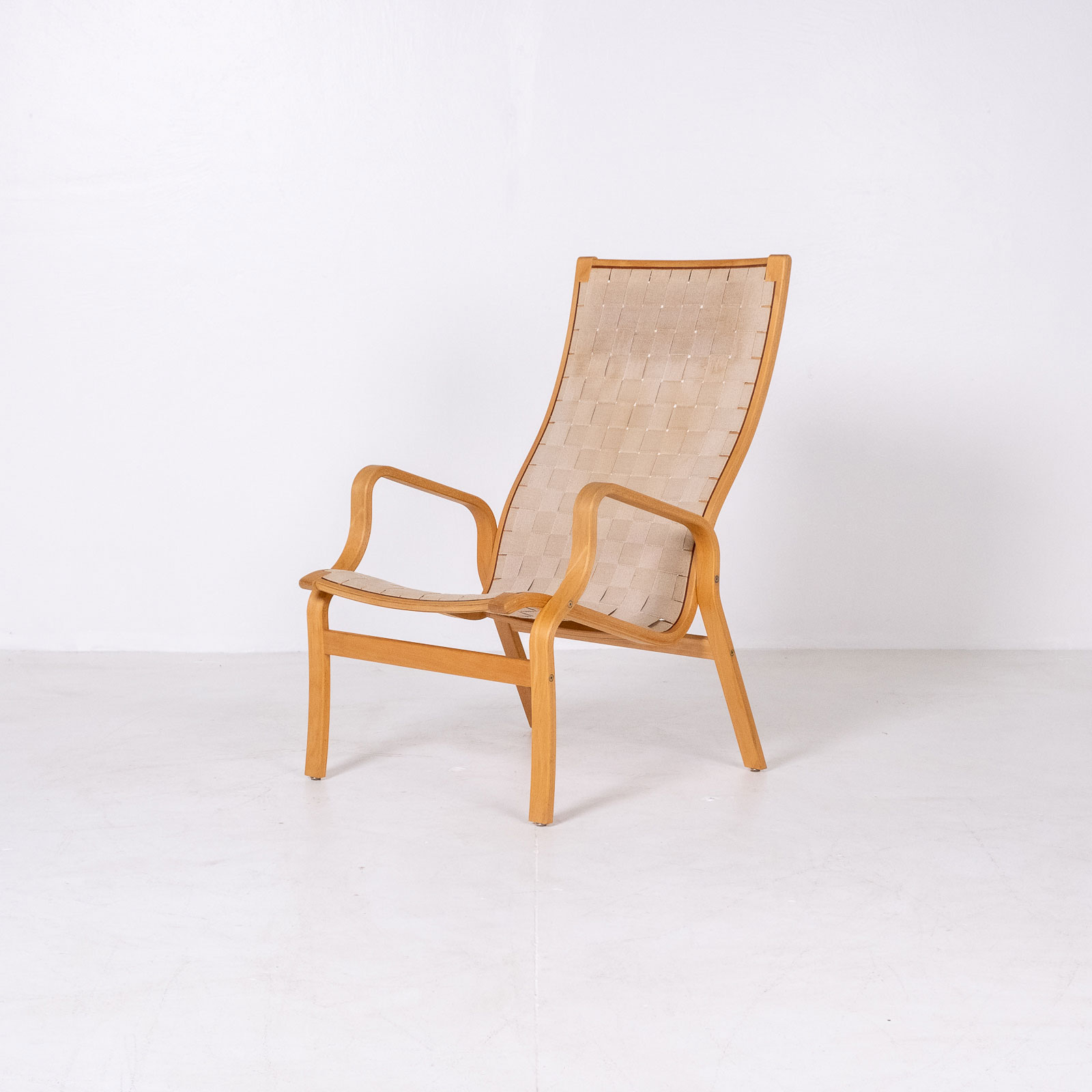 Armchair In The Style Of Bruno Mathsson, 1960s, Sweden4
