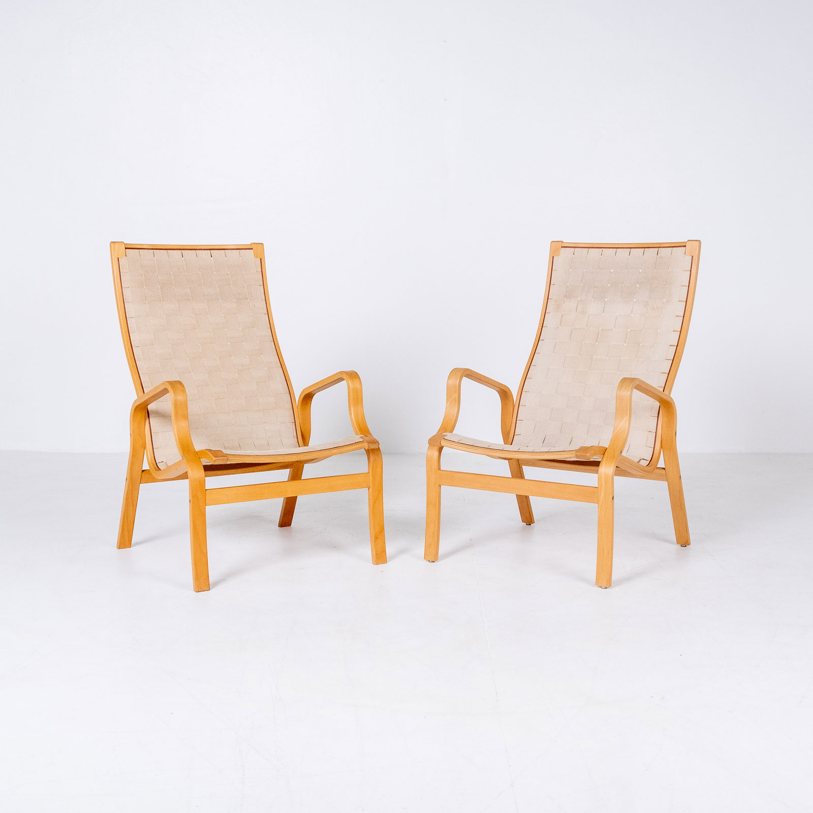 Armchair In The Style Of Bruno Mathsson, 1960s, Sweden6
