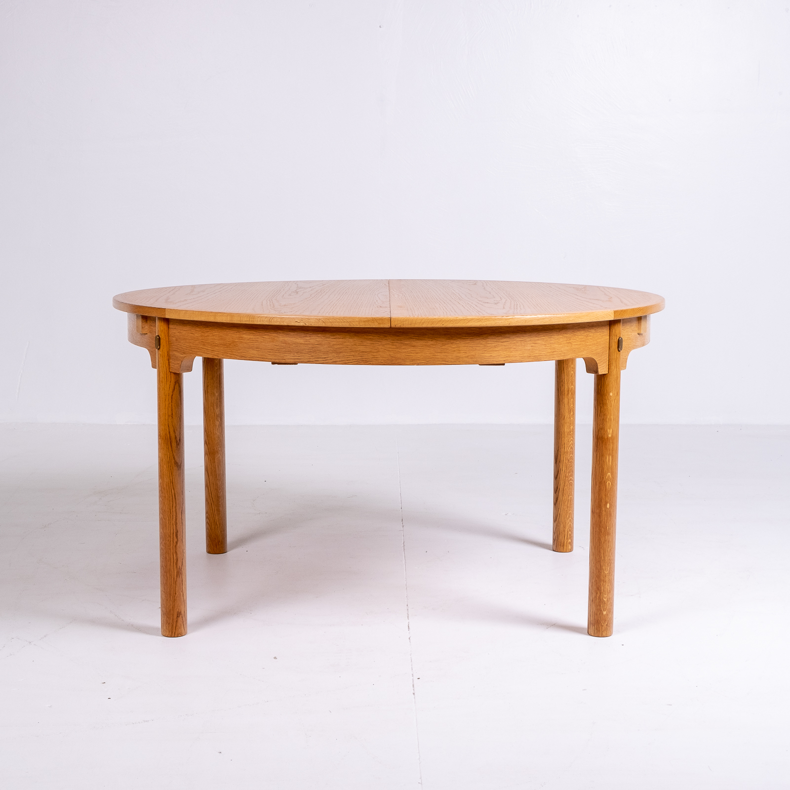 Hero Round 140 Dining Table By Borge Mogensen For Karl Andersson & Söner In Oak With Butterfly Extensions, 1960s, Denmark67