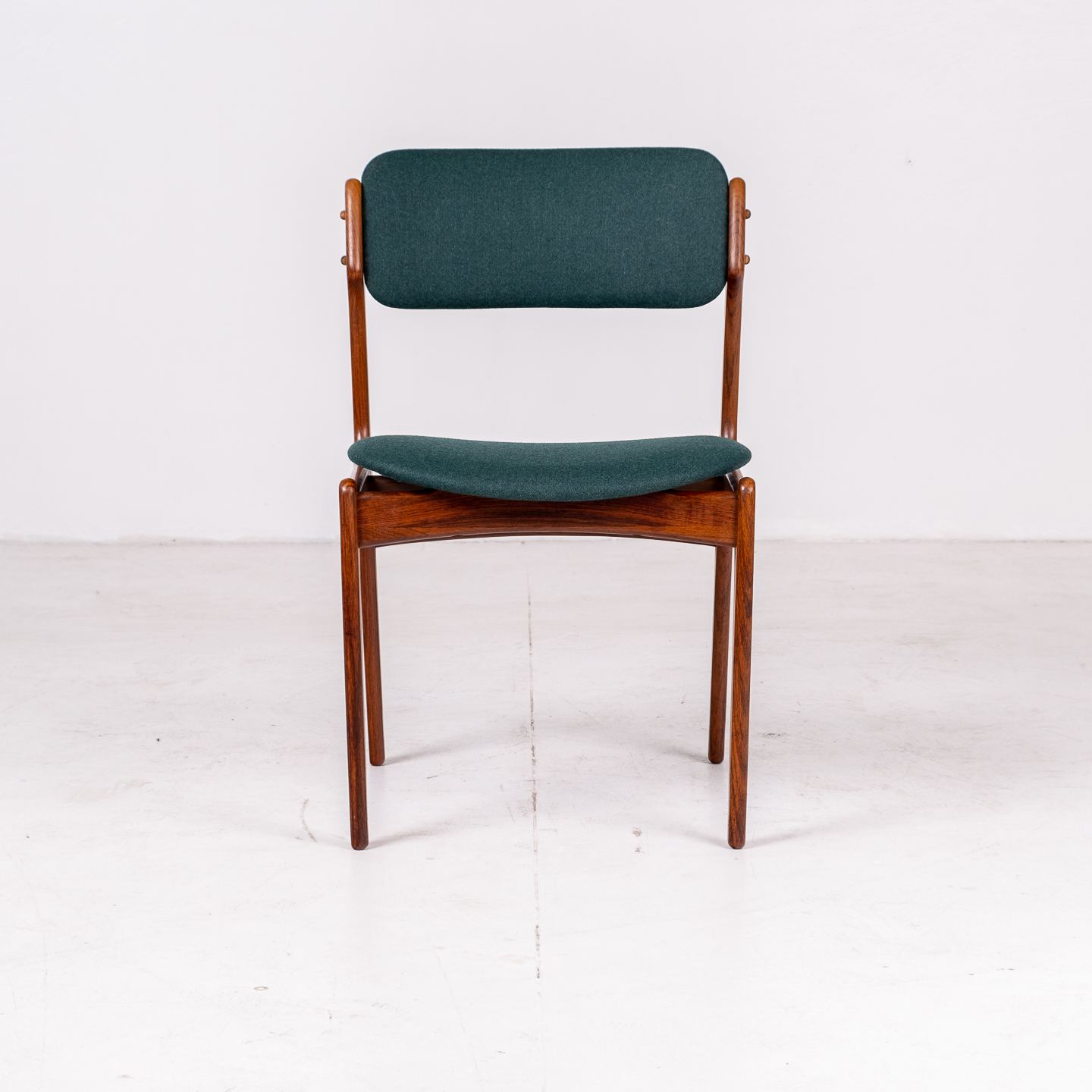 Set 6 Dining Chairs By Eric Buch In Rosewood, 1960s, Denmark 00002