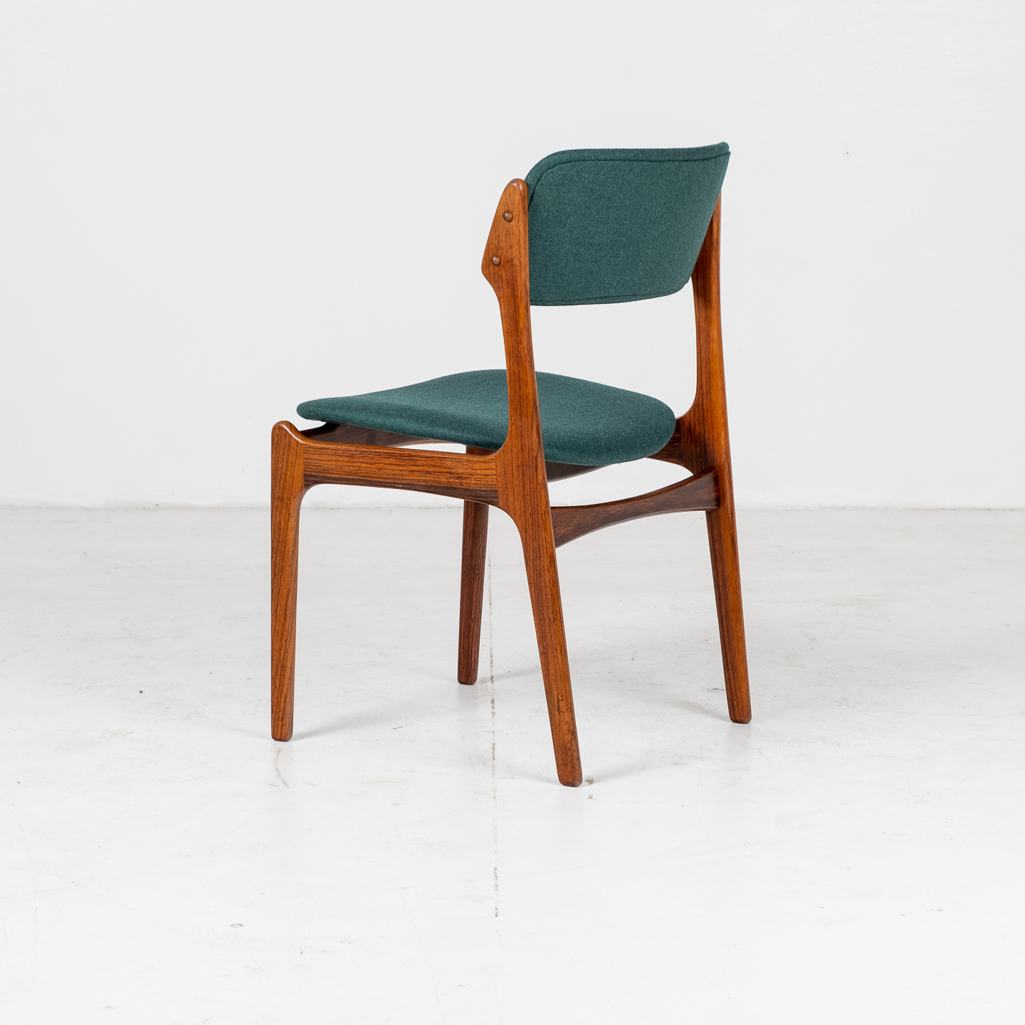 Set 6 Dining Chairs By Eric Buch In Rosewood, 1960s, Denmark 00003