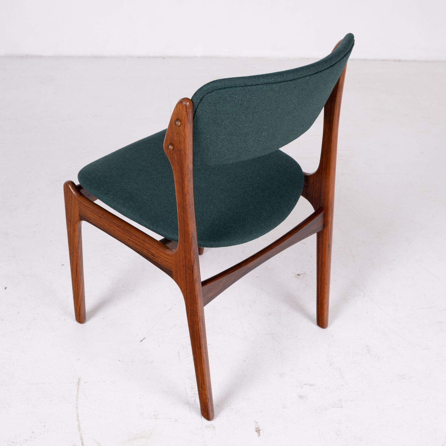 Set 6 Dining Chairs By Eric Buch In Rosewood, 1960s, Denmark 00006