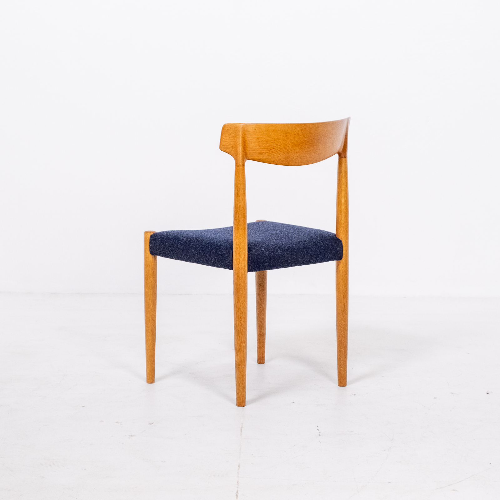Set Of 6 Dining Chairs By Borge Mogensen For Fdb Mobler In Oak, 1960s, Denmark 00004