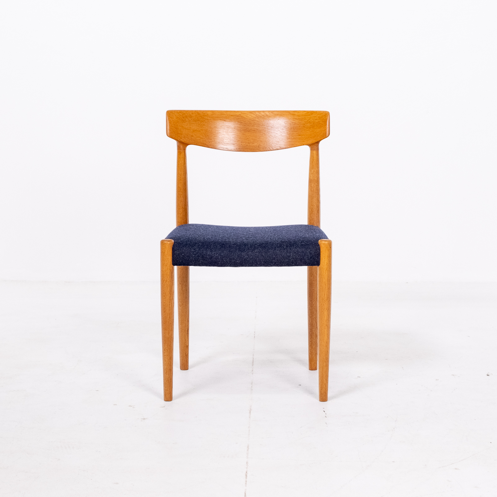 Set Of 6 Dining Chairs By Borge Mogensen For Fdb Mobler In Oak, 1960s, Denmark 00007