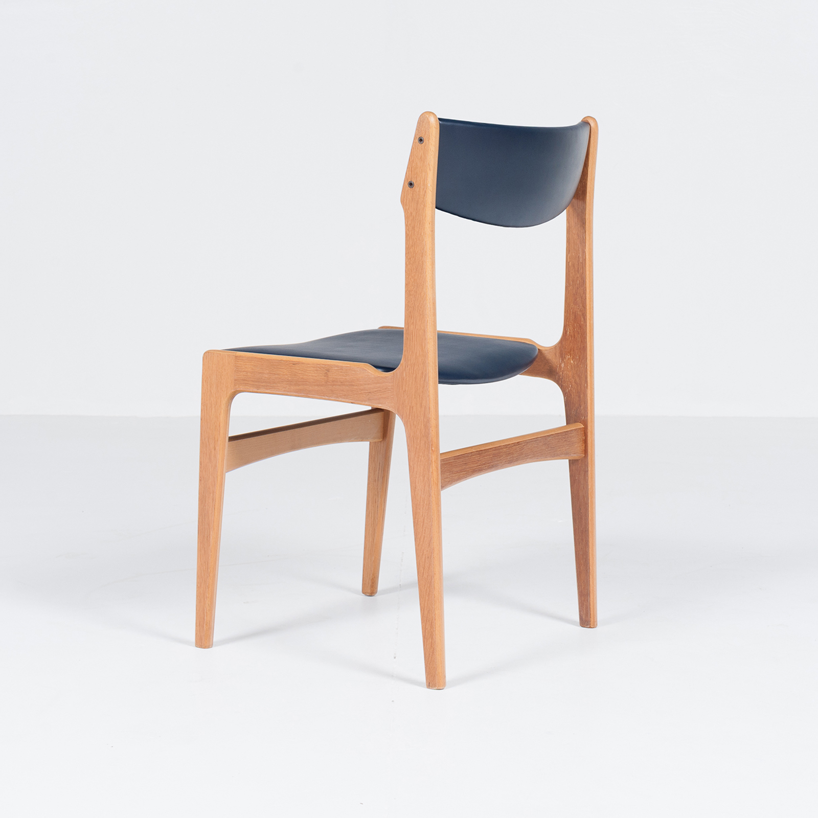 Set Of 6 Dining Chairs By Henning Kjaernulf, 1960s, Denmark6