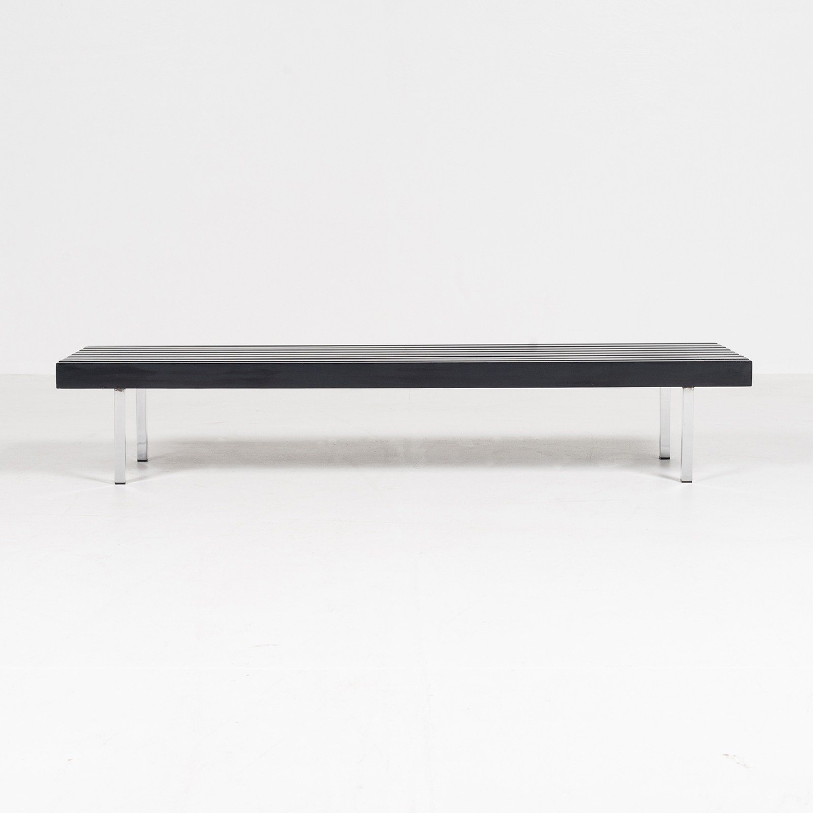 Slatted Bench By 't Spectrum, 1960s, The Netherlands2