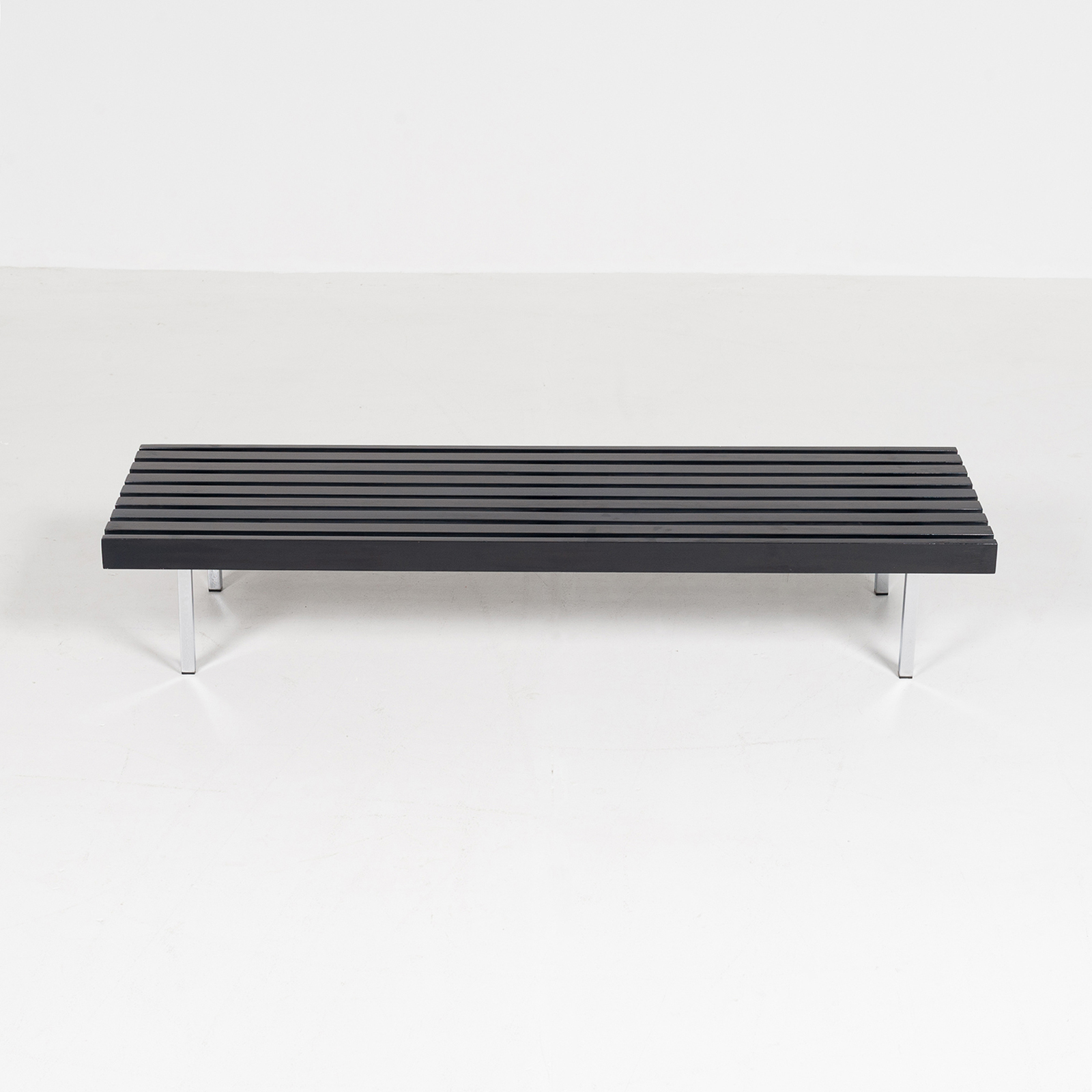 Slatted Bench By 't Spectrum, 1960s, The Netherlands3