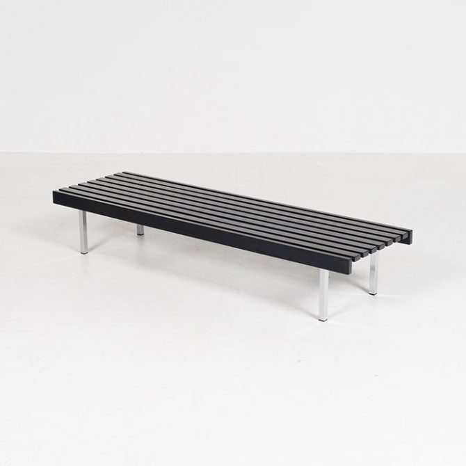 Thumb Slatted Bench By 't Spectrum, 1960s, The Netherlands4