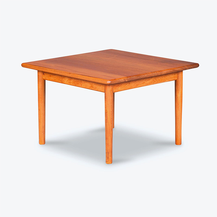 Coffee Table by Hans Wegner in Teak, 1960s, Denmark
