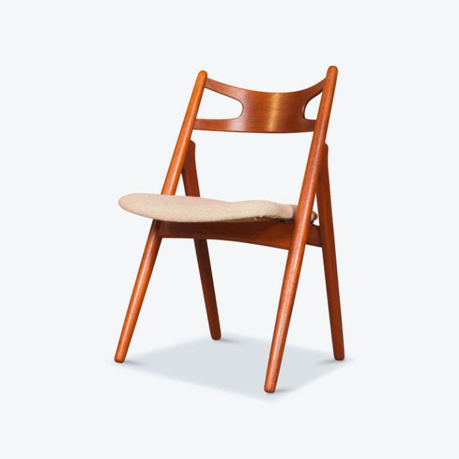 Set 6 CH29 Dining Chairs by Hans Wegner for Carl Hansen in Teak, 1952, Denmark