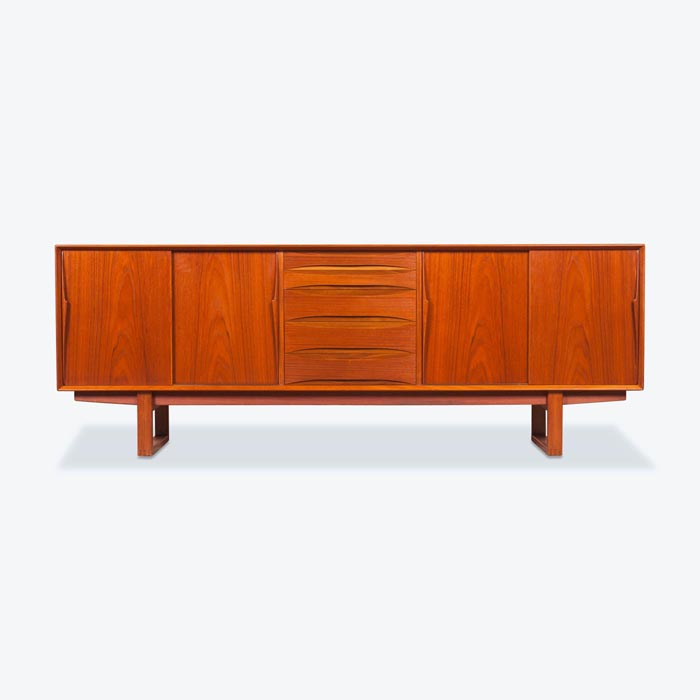 Sideboard in Teak manufactured by Skovby Mobelfabrik, 1960s, Denmark