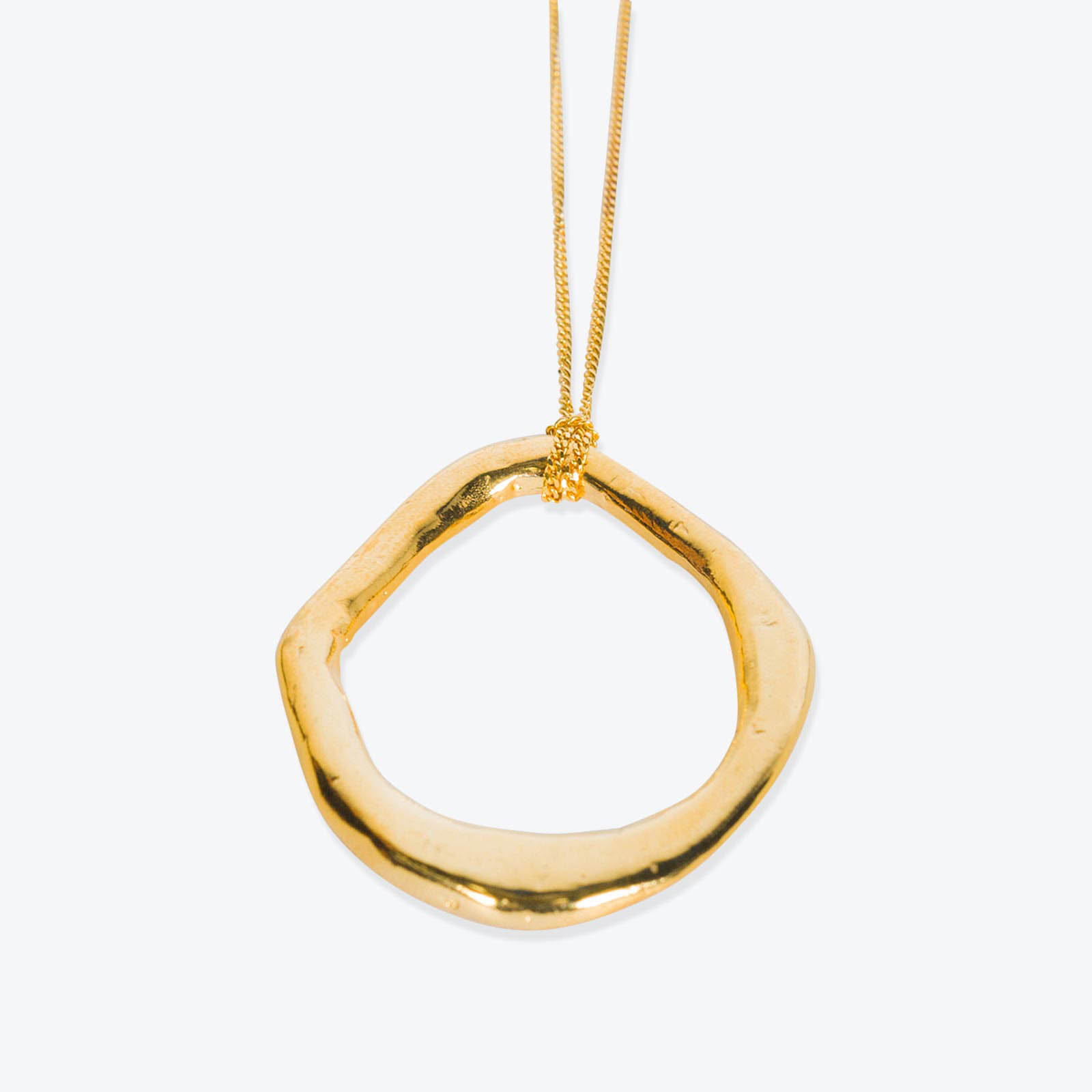 Aphrodite Necklace, Gold Plated Necklace by By Nye